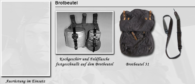 Brotbeutel in der Luftwaffe
